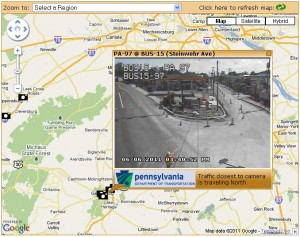 PennDot Traffic Cam Gettysburg